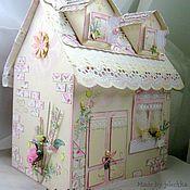 Свадебный салон ручной работы. Ярмарка Мастеров - ручная работа Домик для денежных подарков. Handmade.