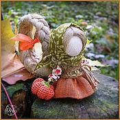 Народная кукла ручной работы. Ярмарка Мастеров - ручная работа Куколка на счастье...с тыковкой. Handmade.