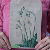 Пакеты ручной работы. Ярмарка Мастеров - ручная работа Пакеты: Крафт конверты с печатью. Handmade.