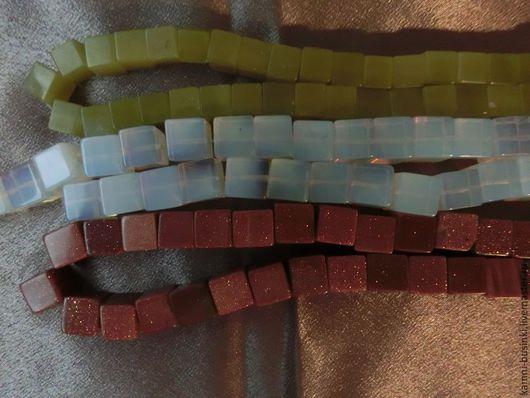 Бусины кубики в ассортименте. Бусины оливина для колье, оливин бусины кубики для браслетов, оливин бусины для серег.