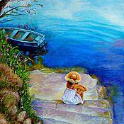 Картины и панно ручной работы. Ярмарка Мастеров - ручная работа Висенте Ромеро Редондо (Vicente Romero Redondo). Handmade.