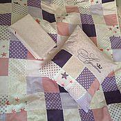 Для дома и интерьера ручной работы. Ярмарка Мастеров - ручная работа Лоскутный комплект постельного белья. Handmade.