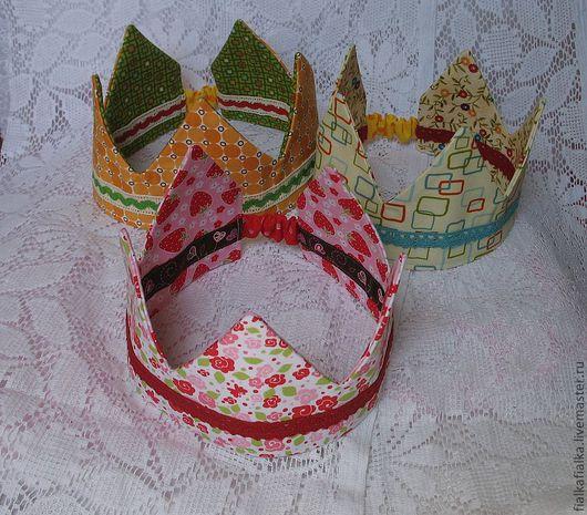 Детская бижутерия ручной работы. Ярмарка Мастеров - ручная работа. Купить Корона для принцессы и принца. Handmade. Цветочный, корона для принцессы