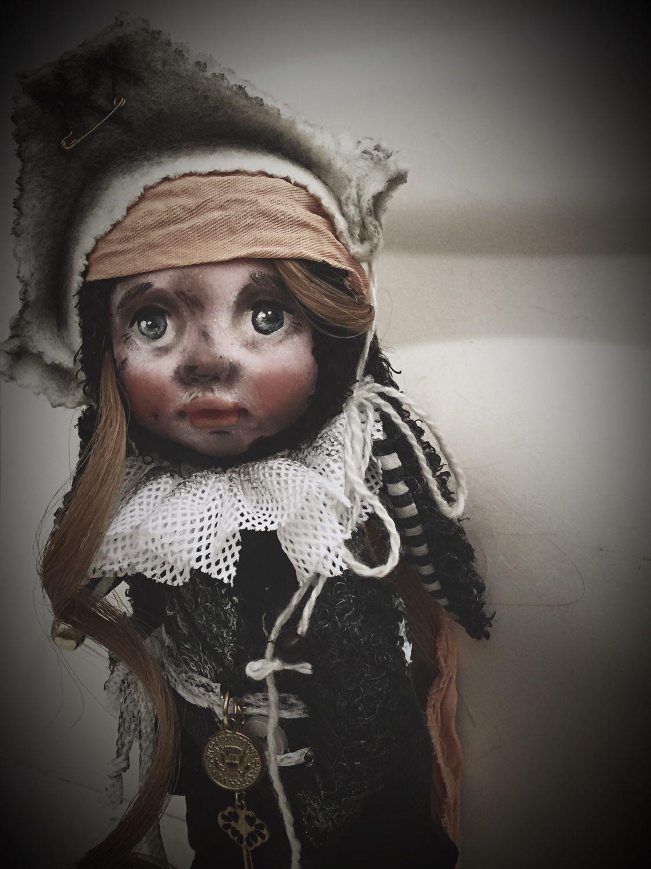 Авторская, коллекционная кукла для интерьера Пиратка, Куклы, Иваново, Фото №1