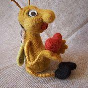 Куклы и игрушки ручной работы. Ярмарка Мастеров - ручная работа забавный жучок. Handmade.