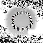 Украшения ручной работы. Ярмарка Мастеров - ручная работа Бусы агат перламутр. Handmade.