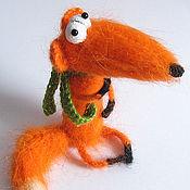 """Куклы и игрушки ручной работы. Ярмарка Мастеров - ручная работа Игрушка вязаная """"Хитрый Лис"""". Handmade."""