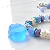 Украшения handmade. Livemaster - original item SUMMER MORNING beads. Handmade.