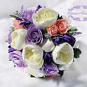 Свадебные букеты ручной работы. Ярмарка Мастеров - ручная работа Букет невесты из фоамирана. Handmade.