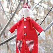 Куклы и игрушки ручной работы. Ярмарка Мастеров - ручная работа Санта очень молодой!:). Handmade.