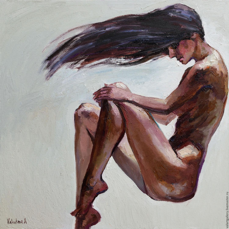 Обнаженная девушка, Картины, Анапа,  Фото №1