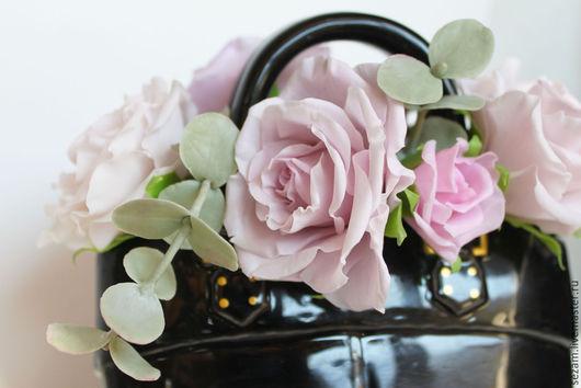 """Интерьерные композиции ручной работы. Ярмарка Мастеров - ручная работа. Купить Интерьерная композиция """"Chanel"""". Handmade. Черный, стильный, chanel"""