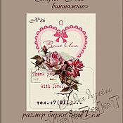 Дизайн и реклама ручной работы. Ярмарка Мастеров - ручная работа Бирки. Handmade.