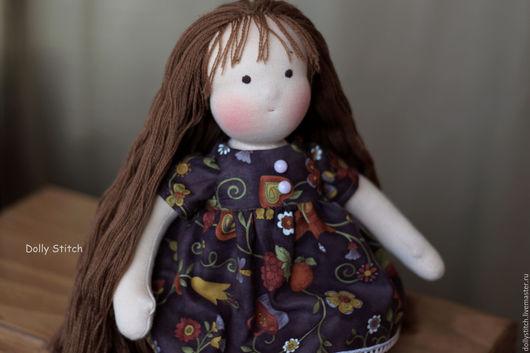 Вальдорфская игрушка ручной работы. Ярмарка Мастеров - ручная работа. Купить Вальдорфская кукла Маруся. Handmade. Вальдорфская кукла