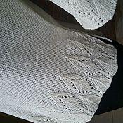 Одежда ручной работы. Ярмарка Мастеров - ручная работа Джемпер льняной Снегурочка. Handmade.