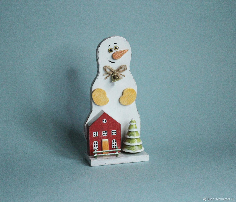 Снеговик с домиком, Снеговики, Москва,  Фото №1