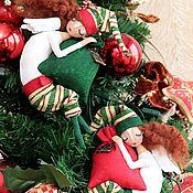 Куклы и игрушки ручной работы. Ярмарка Мастеров - ручная работа НОВОГОДНИЕ ЭЛЬФЫ 2014. Handmade.