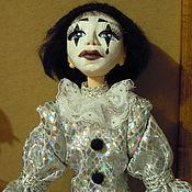 Куклы и игрушки ручной работы. Ярмарка Мастеров - ручная работа Пьеро. Готовая работа.. Handmade.