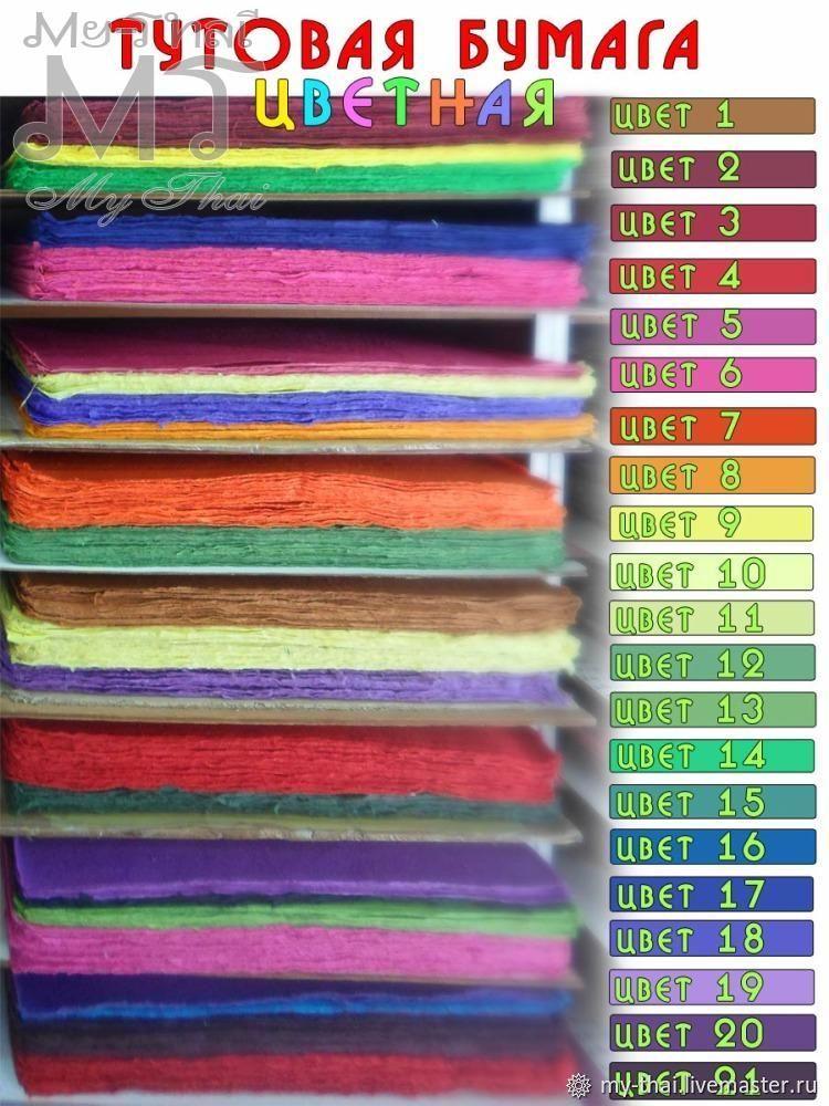 Тутовая бумага Mulberry, Бумага, Бангкок,  Фото №1