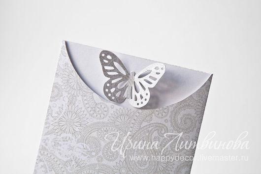 Персональные подарки ручной работы. Подарочный сертификат с бабочкой. Ирина Литвинова. Ярмарка мастеров.