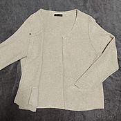 Винтажная одежда ручной работы. Ярмарка Мастеров - ручная работа Кофта, люрекс, жакет, кардиган (Испания). Handmade.