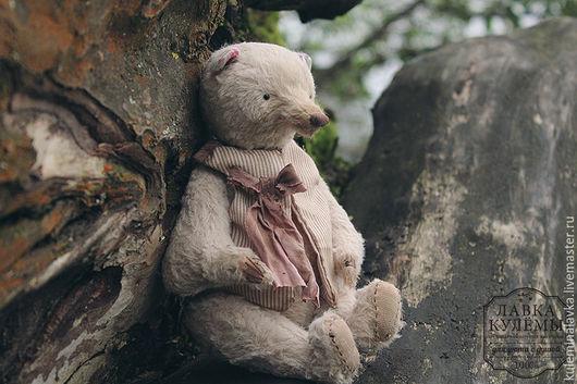 Мишки Тедди ручной работы. Ярмарка Мастеров - ручная работа. Купить Тедди медведь. Handmade. Бежевый, игрушка, авторская работа