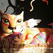 """Куклы и игрушки ручной работы. Ярмарка Мастеров - ручная работа Авторская  кукла паперклей """" Улица Мартовская - 1 """". Handmade."""