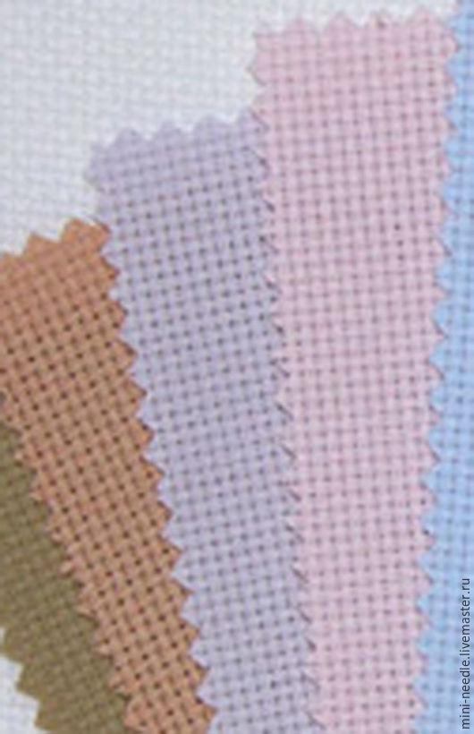 Вышивка ручной работы. Ярмарка Мастеров - ручная работа. Купить Канва Аида 14 Permin (Дания). Handmade. Канва