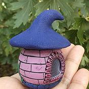 Для дома и интерьера handmade. Livemaster - original item Mini box house for a fairy (mini garden, doll house). Handmade.