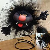 Куклы и игрушки ручной работы. Ярмарка Мастеров - ручная работа Текстильная кукла Чертёнок. Handmade.