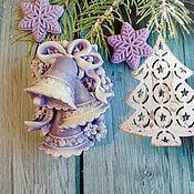 Косметика ручной работы handmade. Livemaster - original item soap: bell Christmas. Handmade.