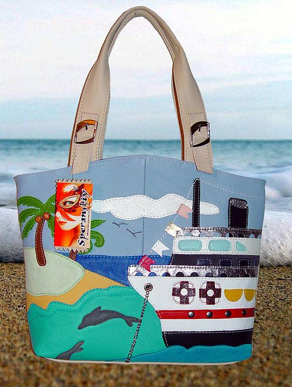 Leather bag ' Islands', Classic Bag, Belgorod,  Фото №1