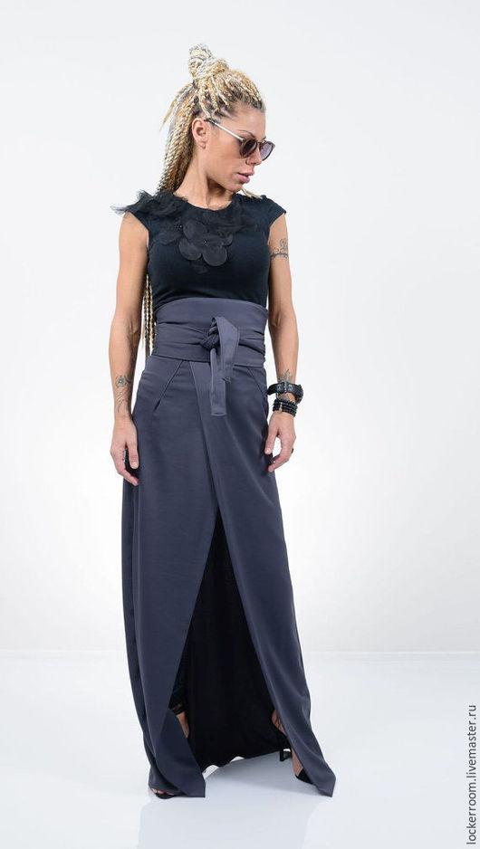 Длинные женские юбки