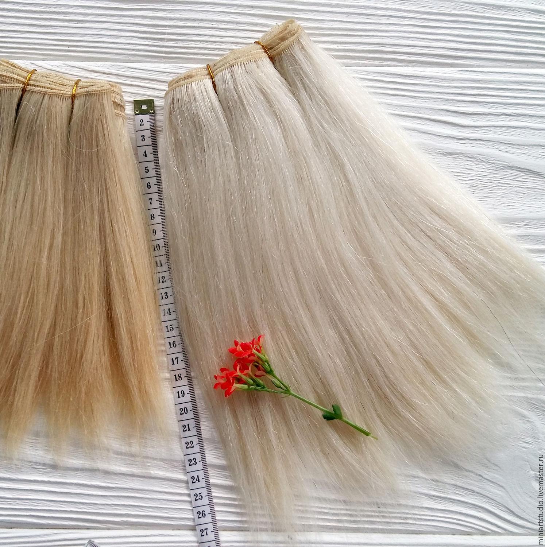 Как делается тресс для парика. МК Страна Мастеров 96