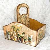 Для дома и интерьера handmade. Livemaster - original item Box for spices, the Melody of the wind. Handmade.