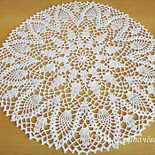 Для дома и интерьера handmade. Livemaster - original item Doily Pineapples. Handmade.