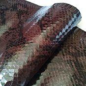 Мех ручной работы. Ярмарка Мастеров - ручная работа Шкурка змеи. Handmade.