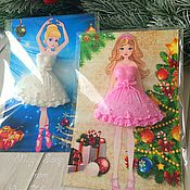 Косметика ручной работы handmade. Livemaster - original item soap-birthday card For little princesses. Handmade.