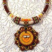 Украшения handmade. Livemaster - original item Necklace: Merry Sun. Handmade.
