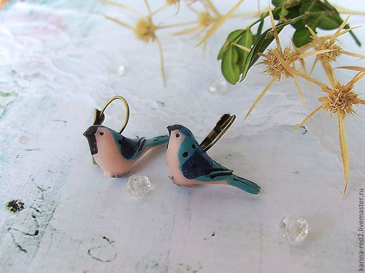 купить серьги синие птички птица украшения серьги фото эпоксидная смола купить подарок интернет магазин подарков украшений эпоксидная бижутерия crystal resin смола украшения бохо серьги птица полет