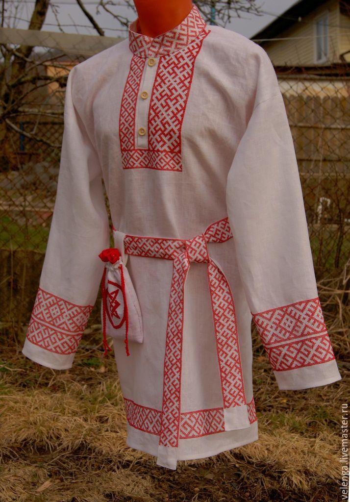 Славянские рубашки с вышивкой
