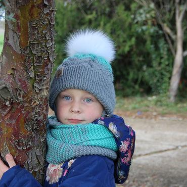 Works for children handmade. Livemaster - original item Warm knit kit