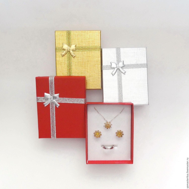 Картон коробочка в подарок 69