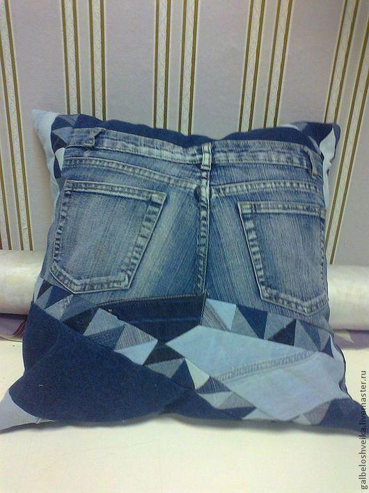 """Текстиль, ковры ручной работы. Ярмарка Мастеров - ручная работа. Купить Подушка """"Две стороны одной подушки"""". Handmade."""