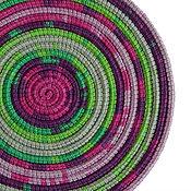 Аксессуары ручной работы. Ярмарка Мастеров - ручная работа Колье из шнуров Lasso Lilac шарф бусы трансформер. Handmade.