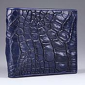 Сумки и аксессуары handmade. Livemaster - original item Crocodile leather wallet IMA0022VC55. Handmade.