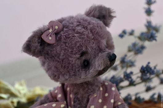 Мишки Тедди ручной работы. Ярмарка Мастеров - ручная работа. Купить волчонок Виолетка. Handmade. Фиолетовый, волчица, коллекционные игрушки