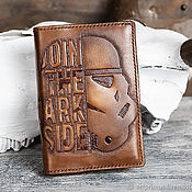 Канцелярские товары handmade. Livemaster - original item Calendar based on Star Wars Stormtrooper JOIN THE DARK SIDE A6. Handmade.
