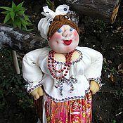 """Куклы и игрушки ручной работы. Ярмарка Мастеров - ручная работа Скульптурно - текстильная кукла """"Солоха"""". Handmade."""