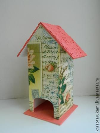 Персональные подарки ручной работы. Ярмарка Мастеров - ручная работа. Купить чайный домик. Handmade. Кухня, кухонный интерьер
